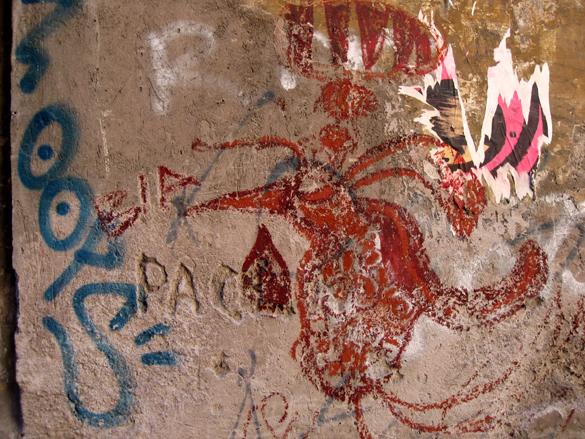 Graffiti in Rome 1