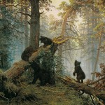 Utro v sosnovom lesu - Ivan Shishkin