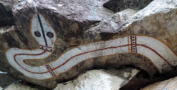 Aboriginal rock 3