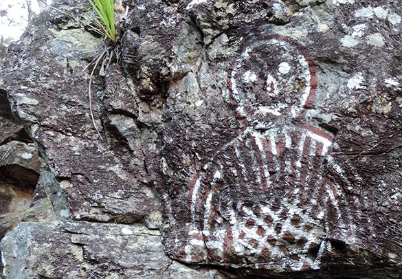 Aboriginal rock 4