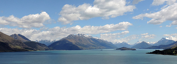 The Lady of Lake Wakatipu 1