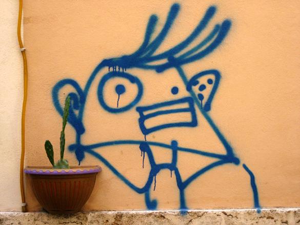 Graffiti in Rome 2
