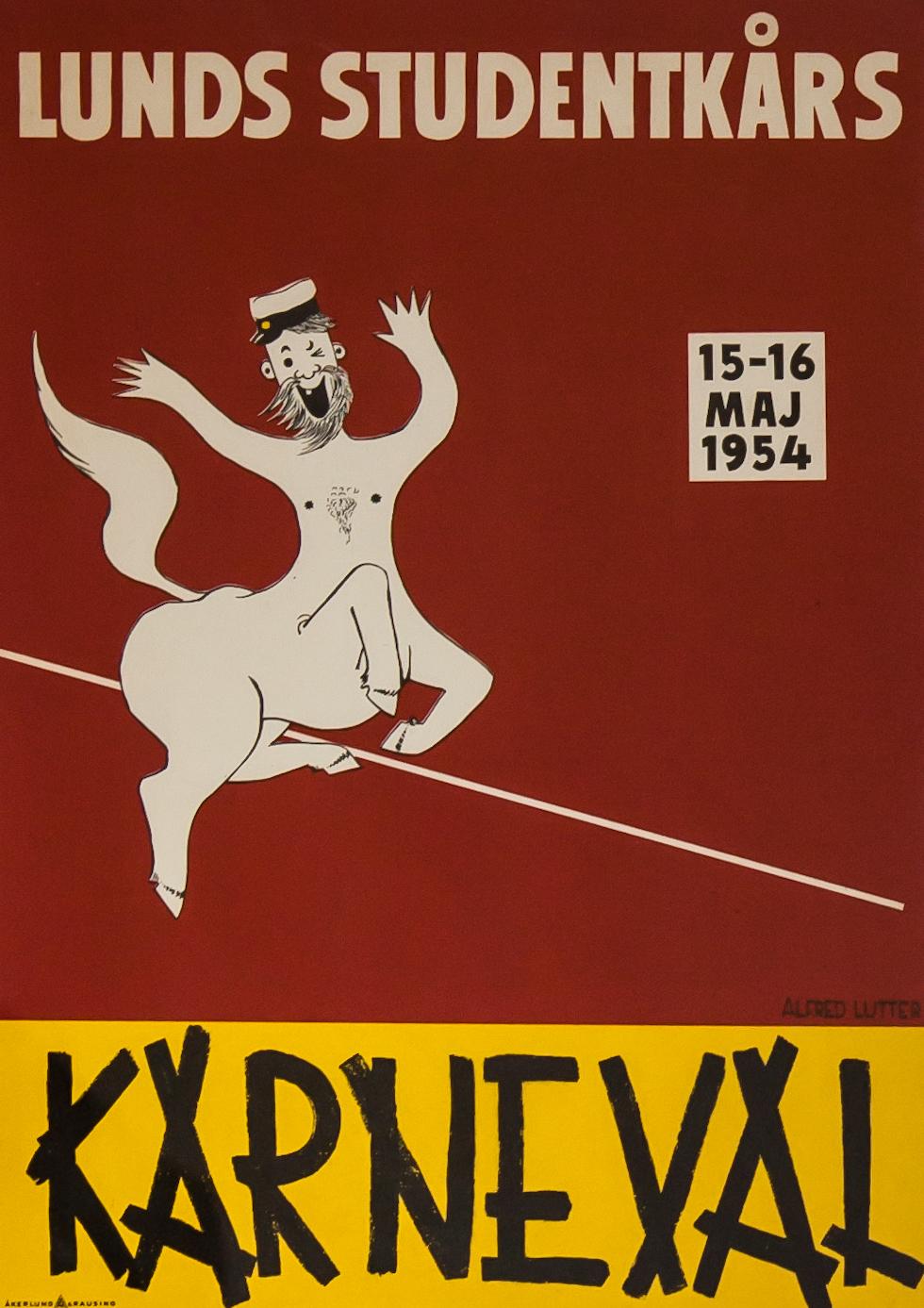 Lunds Studentkårs Karneval 1954