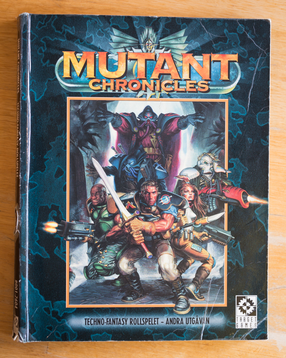 Mutant Chronicles Rulebook