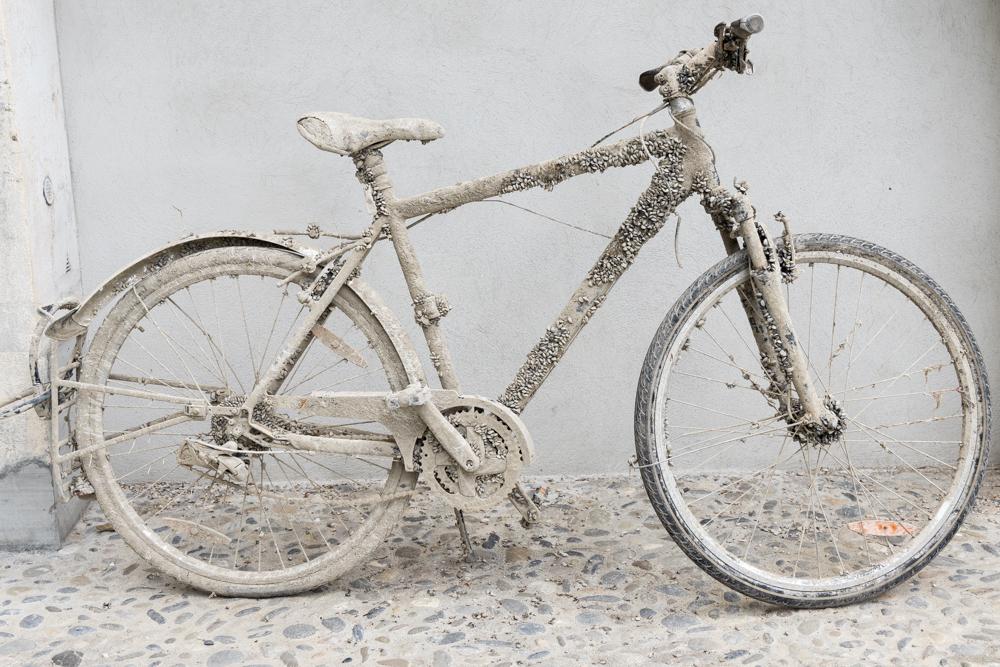 Bike with shells 1